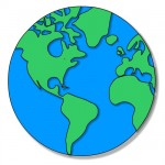 Earth Globe LDS Missionary Clip Art