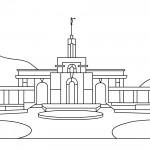 Timpanogos Temple LDS Clip Art