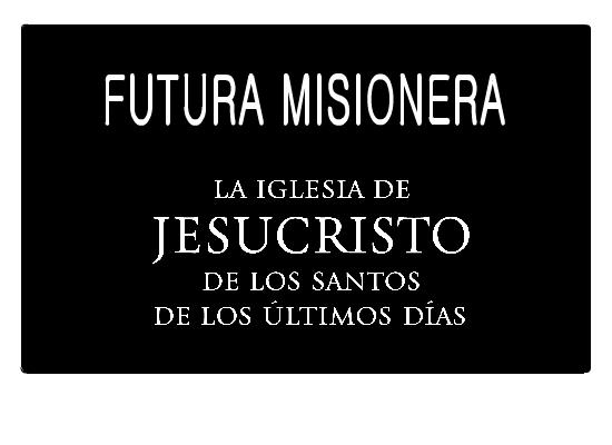 Future Missionary Name Tag Spanish LDS Clip Art Feminine