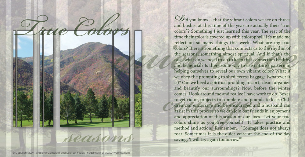 Lds Dating Sites >> Seasons – Creating a House of Order – My CTR Ring